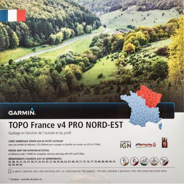 Garmin Topo France région Nord-Est